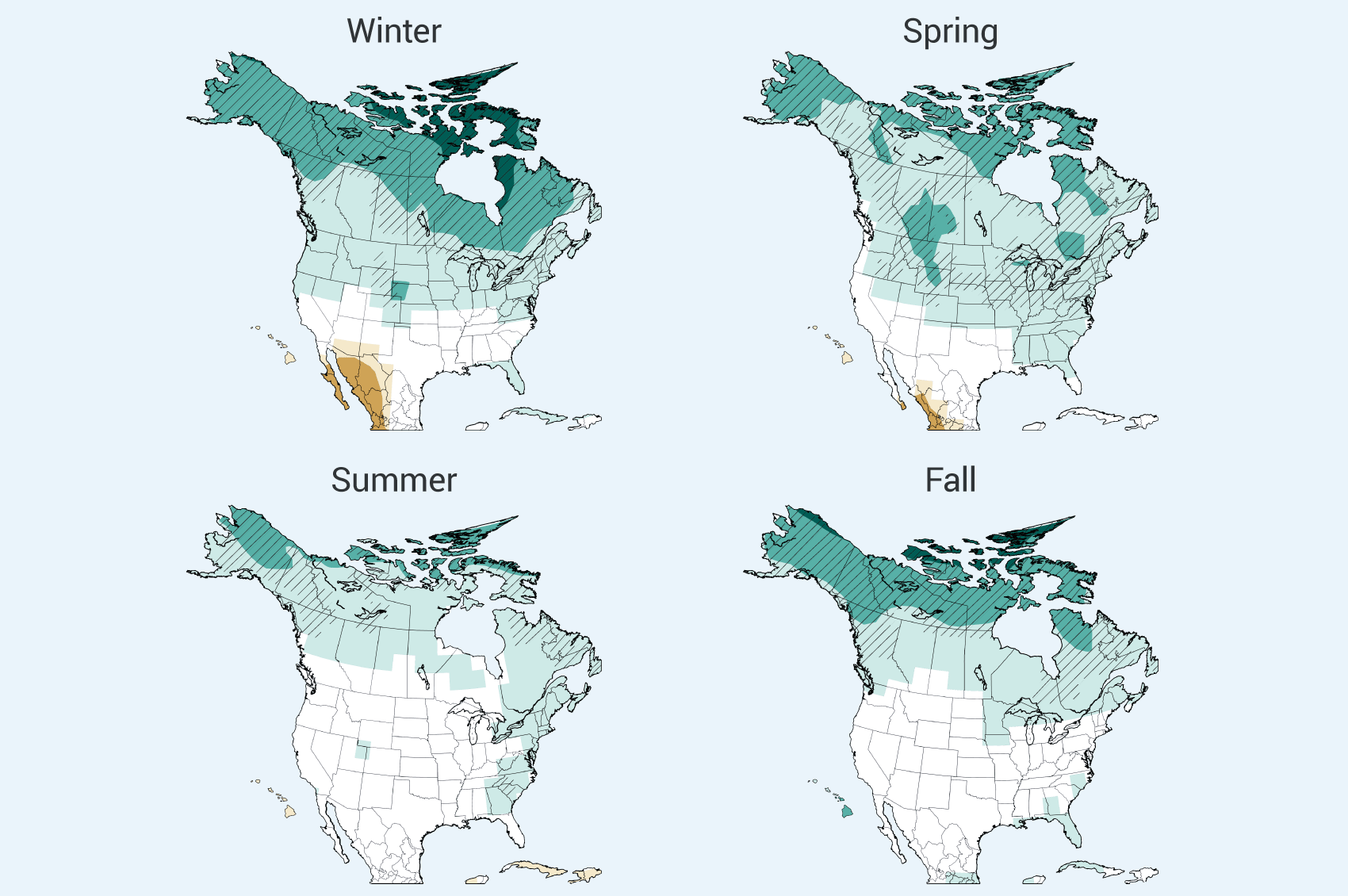 Precipitation Change | National Climate Assessment