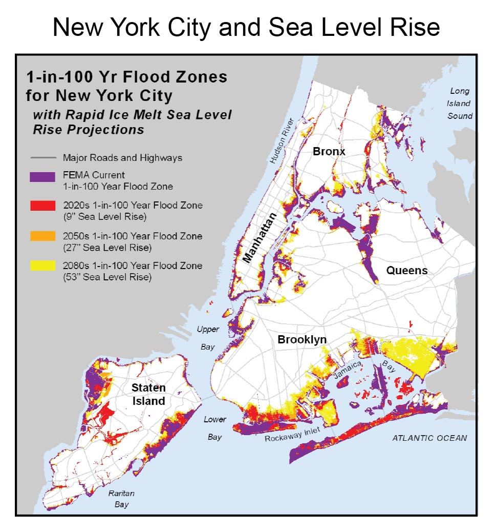 Urban National Climate Assessment - Nyc flood zone map pdf