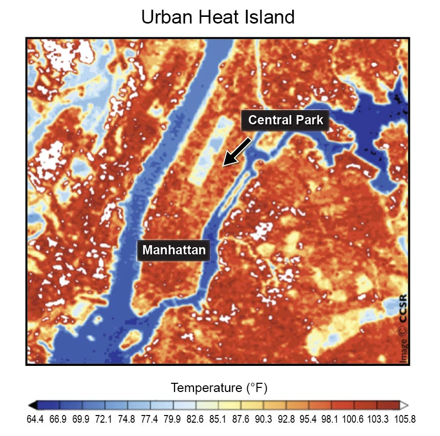 Figure 16 5 Urban Heat Island