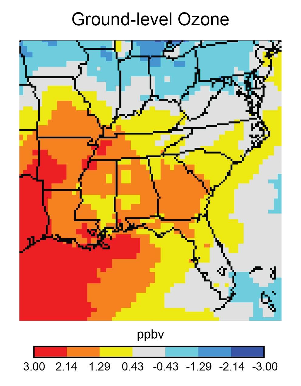 Figure 17 10 Ground Level Ozone
