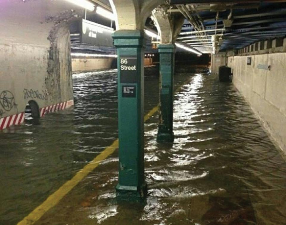 flooded subway