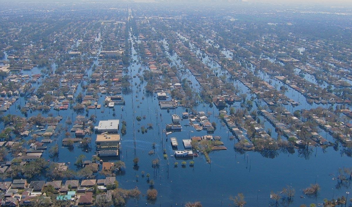Hurrican Katrina damage