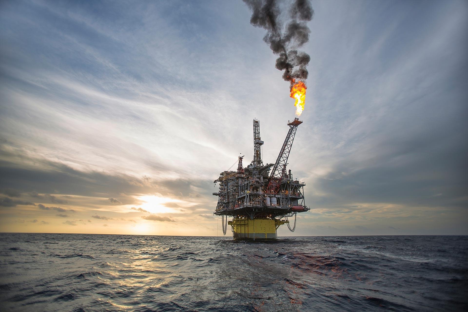 Natural gas platform
