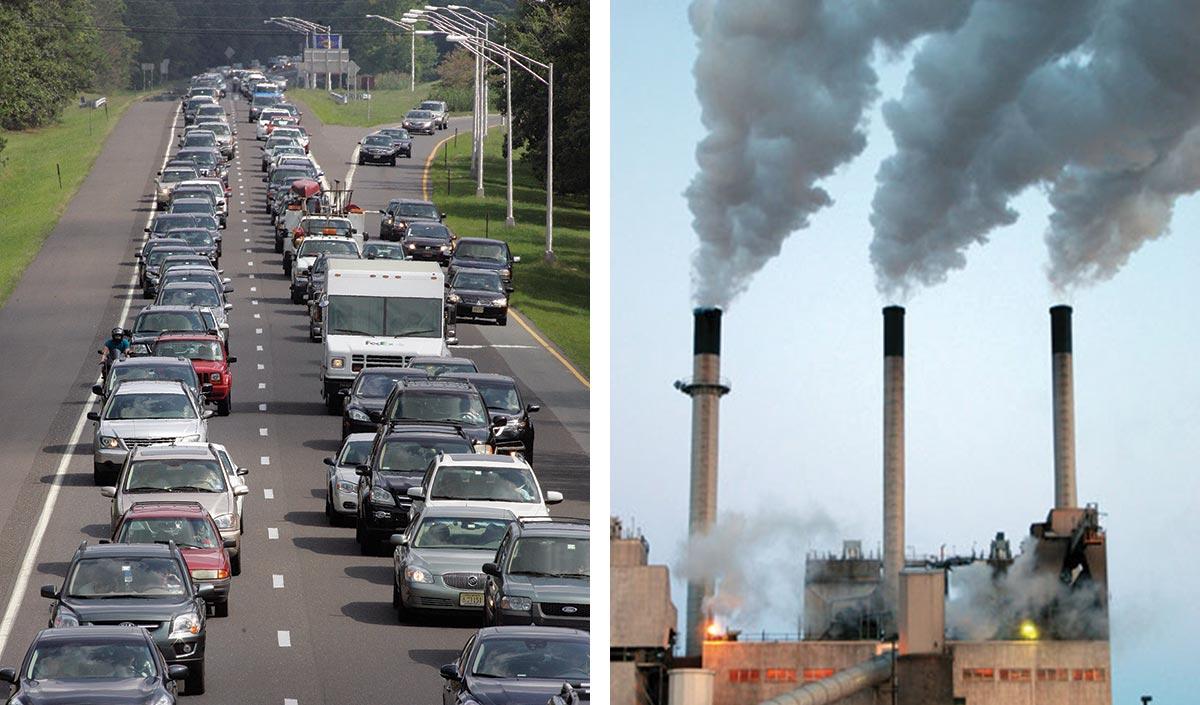 cars; power plant