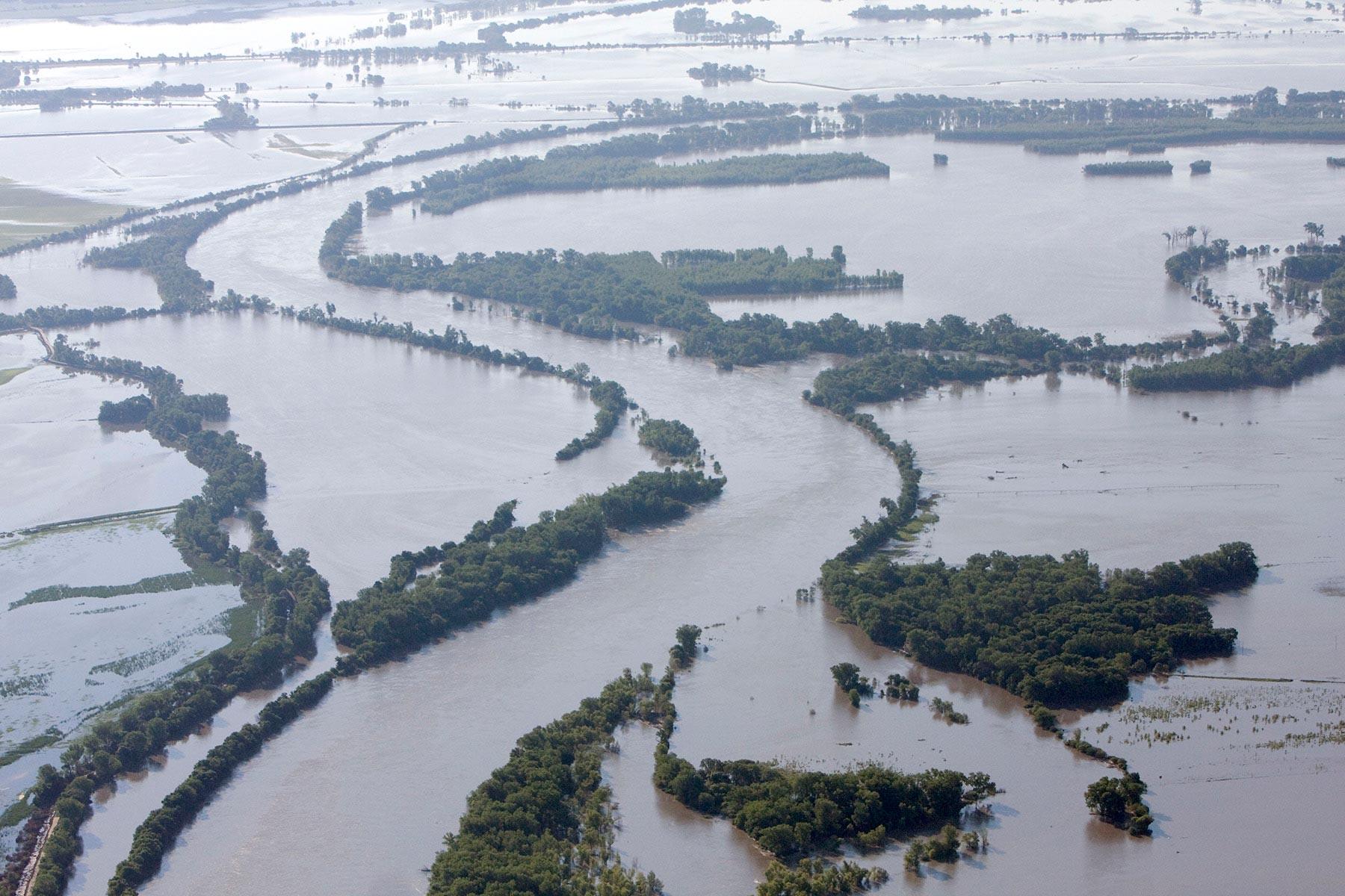 river flood waters